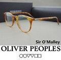 Pueblos oliver gafas Vintage marco de los vidrios ópticos OV5256 Señor O'malley omalley enmarcan gafas de grau gafas marcos