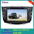 Free Shipping 2016 Top Wince Car Entertainment System Player Video For LiFan X60/ SUV 2011- With GPS Navigation BT Free Map