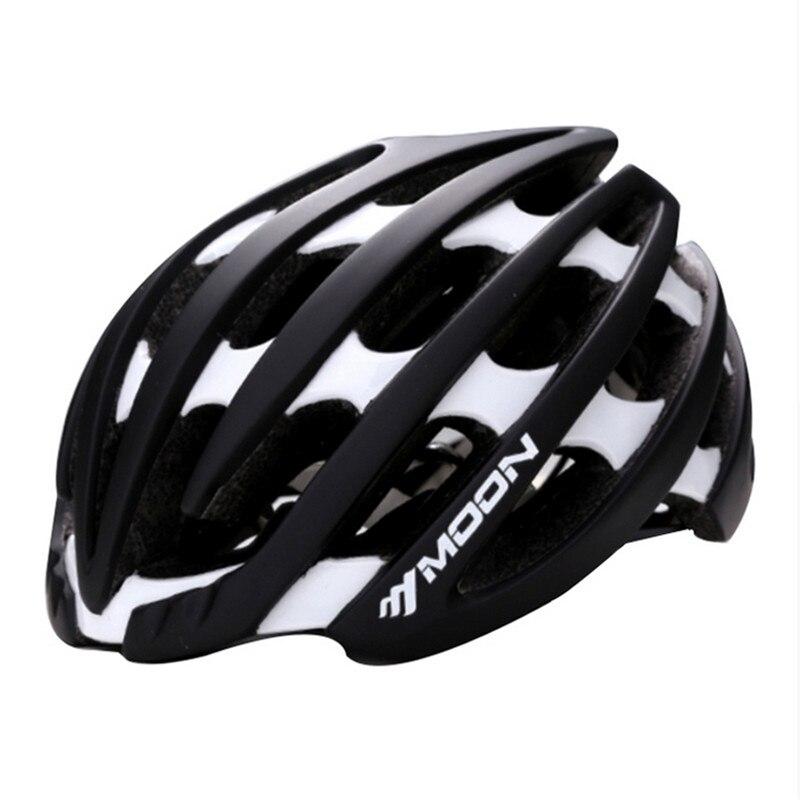 MOON Helmet Road Bike New Outdoor Sports Bicycle Cycling Protective Helmet MBT Adult Bike Equipment capacete de bicicletaMOON Helmet Road Bike New Outdoor Sports Bicycle Cycling Protective Helmet MBT Adult Bike Equipment capacete de bicicleta