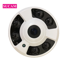все цены на 2MP 4MP AHD Security CCTV Camera 360 Degree Fisheye Video Surveillance Dome Panoramic CMOS Infared Analog Camera with OSD онлайн