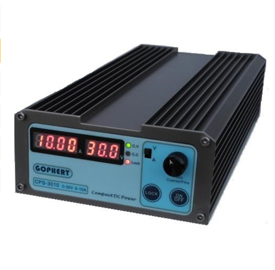New CPS-3010 30V 10A Precision Digital Adjustable DC Power Supply Switchable 110V/220V With OVP/OCP/OTP DC Power 0.01A 0.1V new digital 6 30