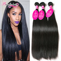 7A Brazilian Virgin Hair Cheap Brazilian Straight Hair 3 Bundles Mink Brazilian Hair Weave Bundles Straight Human Hair Extension