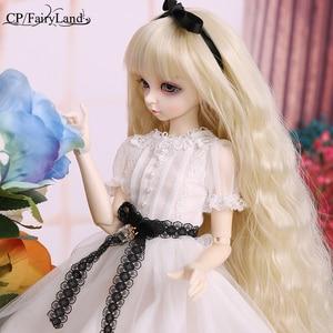 Image 3 - Minifee ante fairyland bjd sd boneca 1/4 modelo do corpo do bebê meninas meninos brinquedos olhos de alta qualidade loja presente resina anime fl luodoll