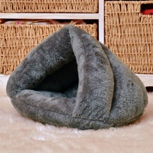 2018 New Dog Cat Pet Beds Cotton Teddy Rabbit Bed House Snow Rena Dog Basket For Small Medium Dog Soft Warm Beds House