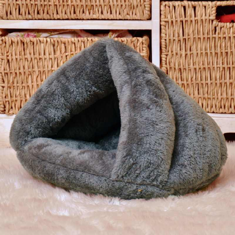 2019 New Dog Cat Pet Beds Cotton Teddy Rabbit Bed House Snow Rena Dog Basket For Small Medium Dog Soft Warm Beds House