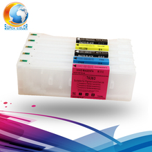 Bulk Hot Sales 700ml refillable ink cartridge for Epson 7890 9890 7908 9908 refillable ink cartridge with reset chip