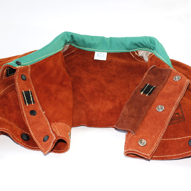 Leather welders jacket