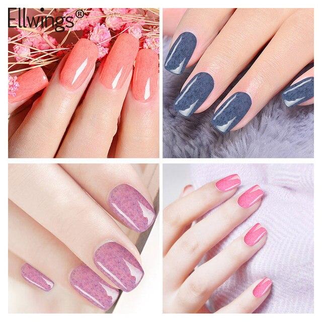 Ellwings Faux Fur Gel Polish For Nail Manicure Velvet Effect Nail
