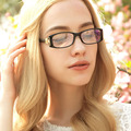 Moda Full-frame óculos de armação ultra-clear silicone ópticos espetáculos de vidro liso óculos Gafas