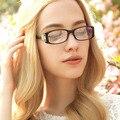 Moda gafas de fotograma Completo marco óptico ultra-clara de silicona Gafas de cristal liso