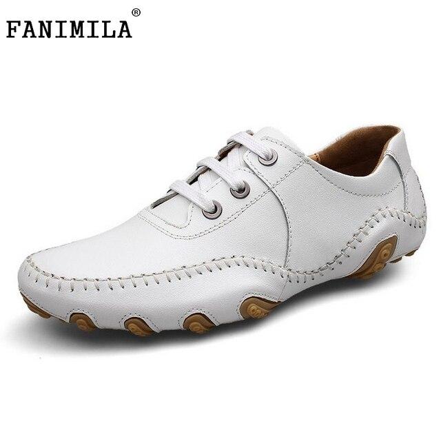 Los Hombres de moda Zapatos de Verano Fresco de Invierno Caliente de Cuero Real Zapatos de Los Hombres pisos Zapatos casuales Para Hombre Oxford Doug Zapatos Hombres Tamaño 38-45 M0226