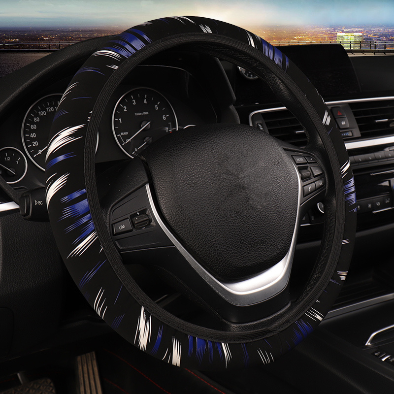 Fit For Most Cars Graffiti Design Steering Wheel Covers Car-Styling steering wheel hubs wheel cover Accessories