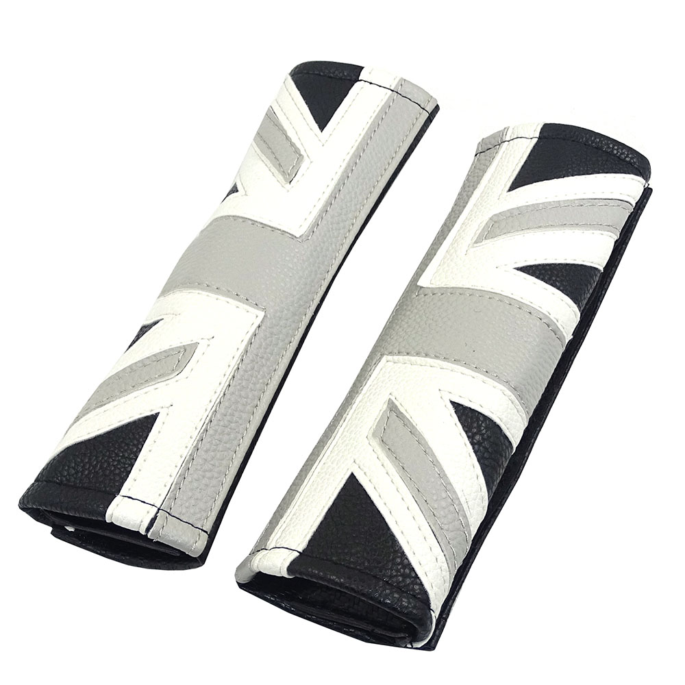 PU Safety Seat Belt Cover Shoulders Pad For Mini Cooper JCW One S Countryman