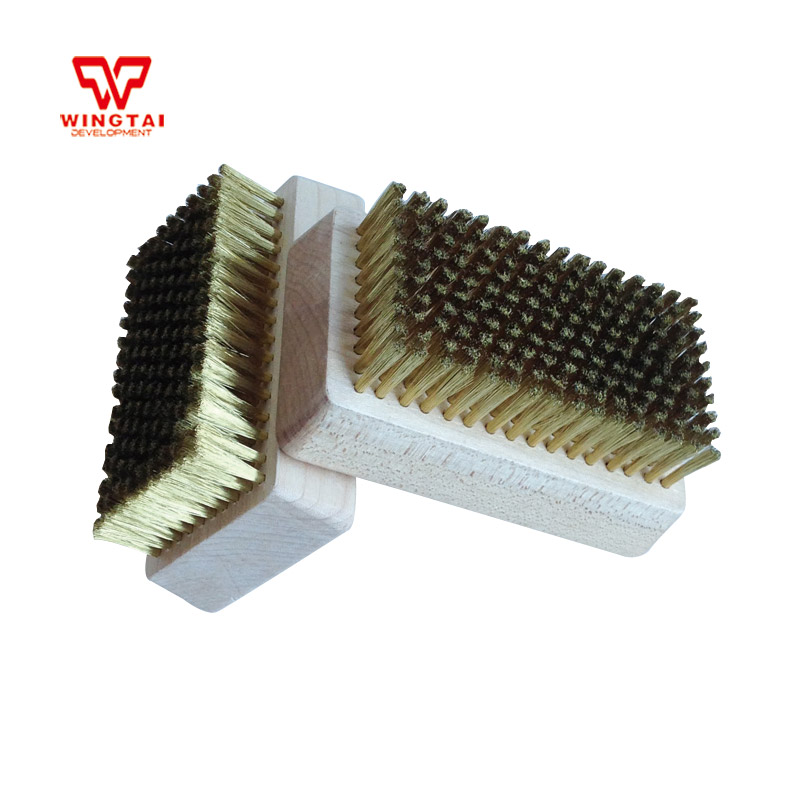 Brass Wire Brush 0.127mm copper wire brush/ brush cleaner For Cleaning Chrome Anilox Roll wlxy wl 301 wire brush set