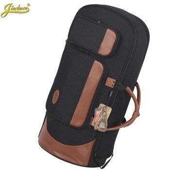 New Professional Portable Luxury standing key bond horn bag euphonium case three flat key horn soft gig backpack cover shoulder