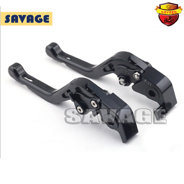 ФОТО For DUCATI MULTISTRADA 1200 2015 Black Motorcycle Accessories CNC Aluminum Short Brake Clutch Levers