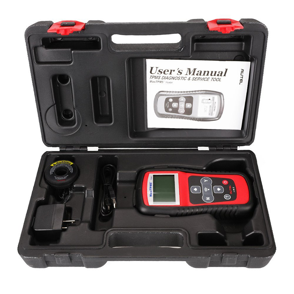Image 5 - AUTEL MaxiTPMS TS401 TPMS Tool Tyre Pressure Sensor Activator Programmer Receive both 315MHz and 433MHz signals