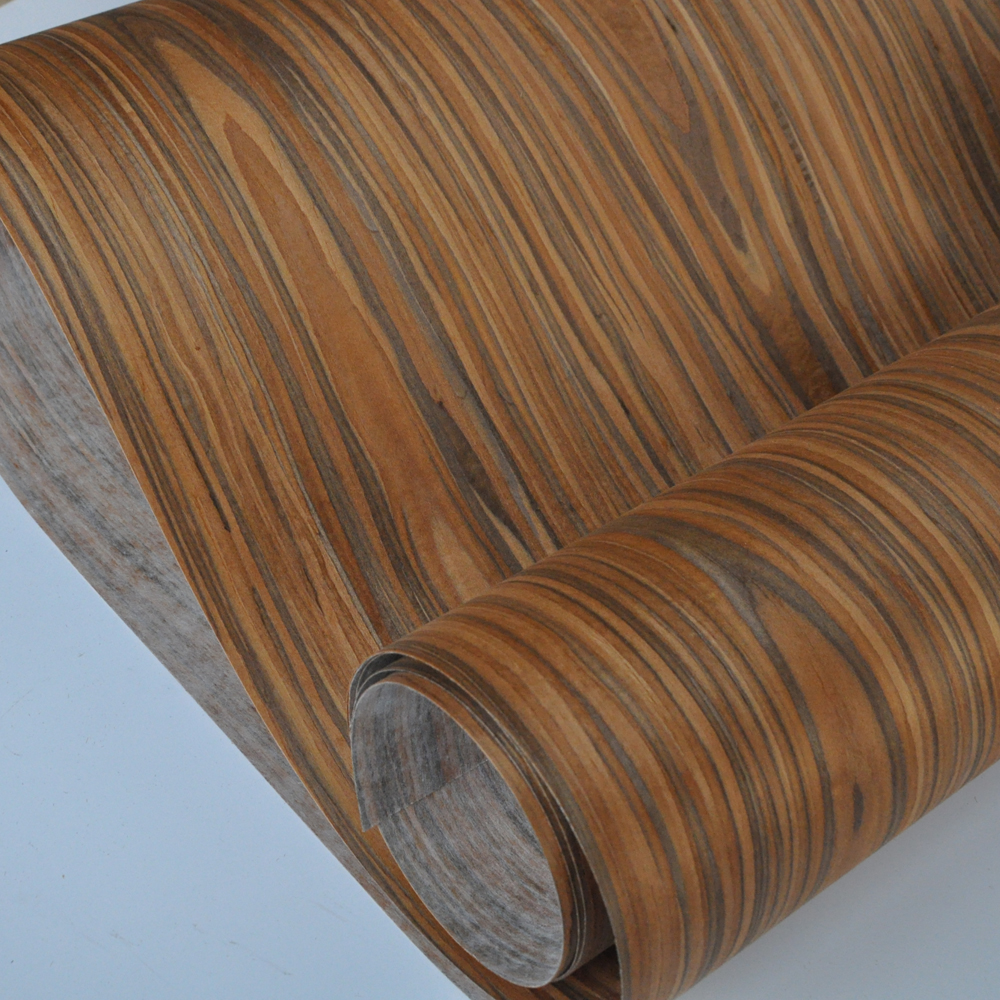 Santos Rosewood Engineered Wood Veneer With Fleece Backer
