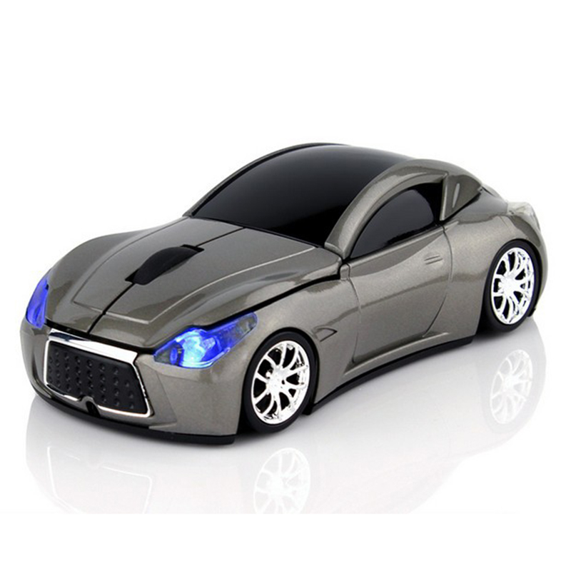Notebook Mouse Infiniti Sports Car Wireless Computer Mouse Optical 2.4GHz 1600 DPI Optical Gaming with LED Flashing Light