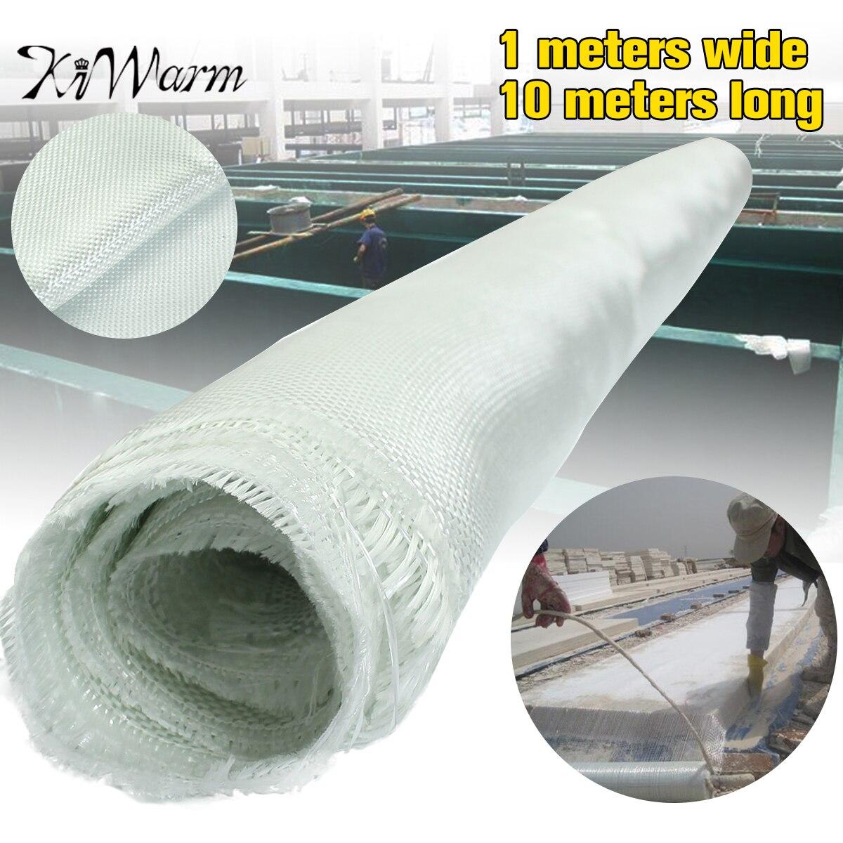 10x1 m tissu en Fiber de verre blanc tissé tissu itinérant en Fiber de verre armure toile Quilting outils bricolage matériel fournitures ignifuge