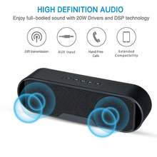 New mini Bluetooth Speaker Portable Wireless Speaker Sound System 3D Stereo Music Surround Support Bluetooth(China)
