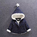 2017 fashion children coat cotton woolen hooded baby boy girls outerwear casual warm winter baby boys girls coat clothing hc009