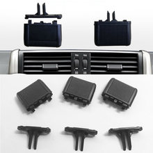 Car Front A/C Air Conditioning Vent Outlet Tab Clip Repair Kit for Toyota Prado 10-17 Auto Accessories air conditioning a c air vent outlet tab clip repair kit for vw sagitar