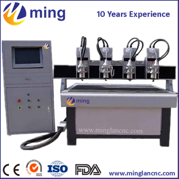 ML-1212 1200mm * 1200mm * 150mm 1212 CNC machine avec tête multi