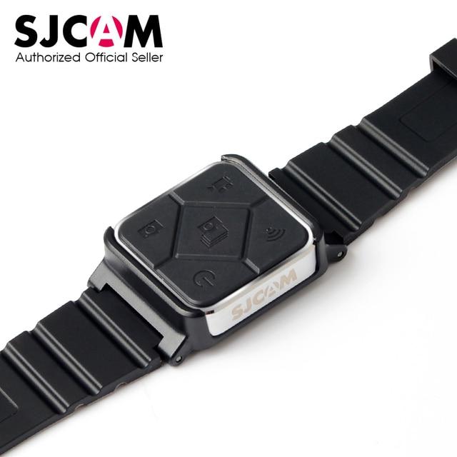 SJCAM غير نافذ للمطر ساعة التحكم عن بعد WiFi المعصم الفرقة ل SJ6 SJ7 SJ8 برو/زائد/الهواء SJ9 سترايك/ماكس SJ4000X عمل ملحقات الكاميرا