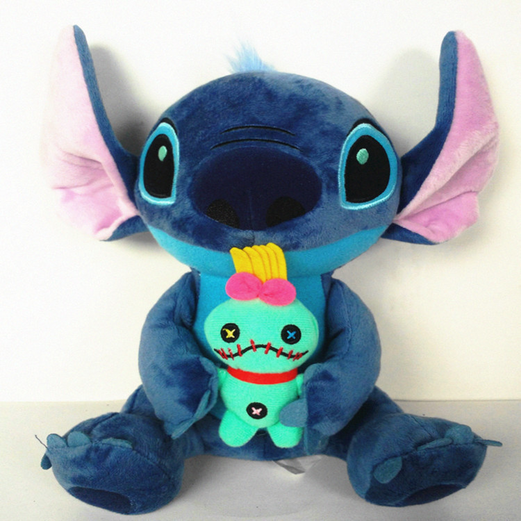 15 Styles Kawaii Stitch Plush Toys Big Lilo and Stitch Stich Plush Toys Scrump Soft Stuffed Animal Doll Kids Toy Christmas Gifts калькулятор canon as 888 page 4