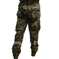 Cotton Cloth Digital Camo Pants Trousers Camouflage Pattern Clothes Pants