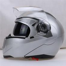 Классический JIEKAI OFF Road undrape Мотоциклетный Шлем JK105 рыцарь мотокросс Мотоциклетные шлемы, изготовленные из ABS с серебряного цвета