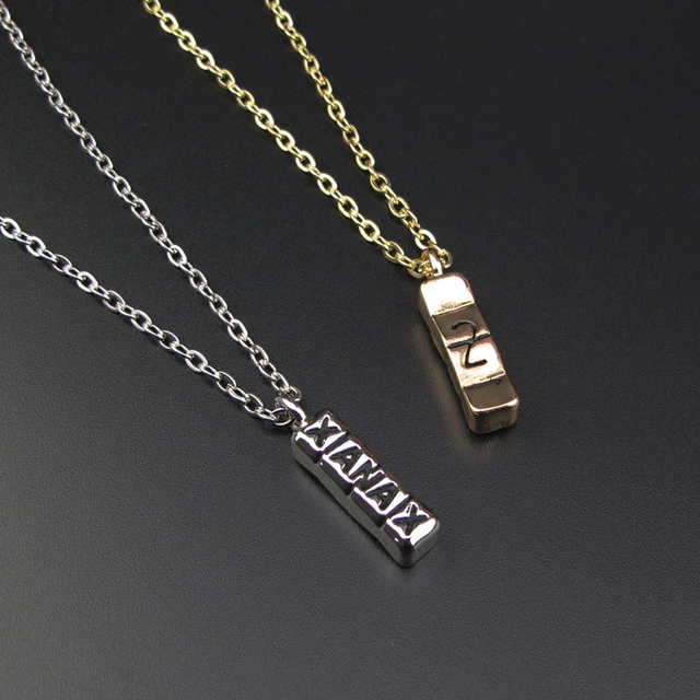 acf19cb6eb6 Hot Sale Hiphop Silver Gold Cool Xanax Pill Necklace Bar Pendant Letter  Necklace Pill Drug Chain Party Pendant Necklace Collier