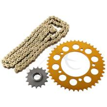 Sprocket and 525 Chain Kit For HONDA CB 600 FA HORNET 2008-2010 2009 Brand New(China)