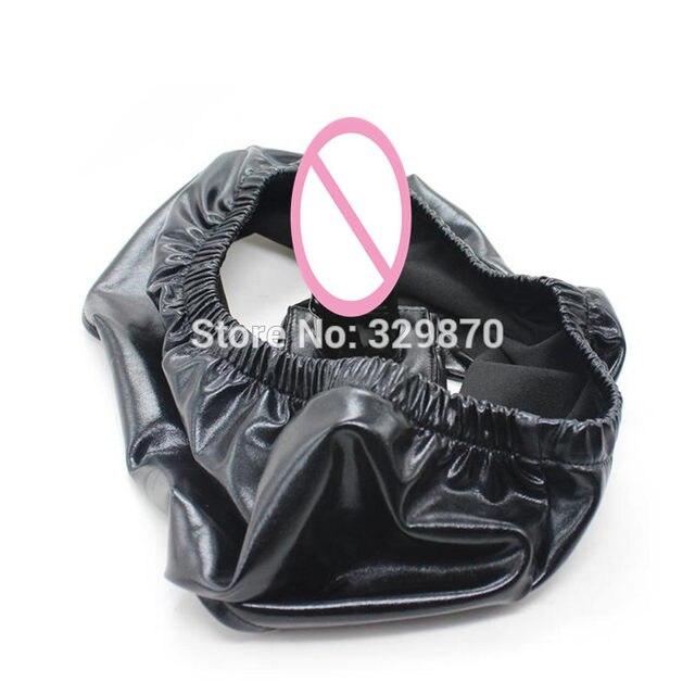Black dildo pantie