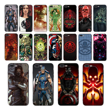 MARVEL Hail Hydra Soft black silicone mobile phone cases for iphone x xs xr xsmax 6s 6 7 8 plus 5 5s se TPU cover shell bumper