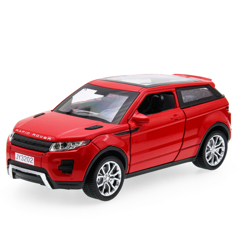 2017 Hot sell 1:32 Aurora JY3202 SUV Jeep Diecast Alloy Metal Luxury Car Model Collectio ...