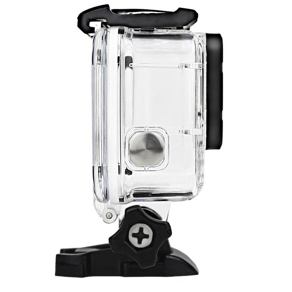 Image 5 - Прозрачный подводный Корпус для Gopro Hero 5 6 с противотуманными вставками защитный водостойкий погружной корпус 40 м глубокий водный чехол для подводного плавания-in Чехлы для спортивных видеокамер from Бытовая электроника