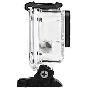 Image 5 - Gopro hero 5 6 용 투명 수중 하우징 anti fog inserts 보호 방수 다이브 쉘 40 m 딥 워터 스쿠버 케이스