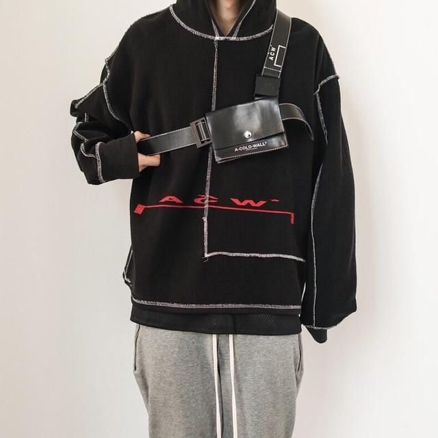 362c0100 Best Version A-COLD-WALL ACW Logo Printed Women Men Hoodie Pullover Hip hop  Streetwear Oversized Men Sweatshirts kanye west
