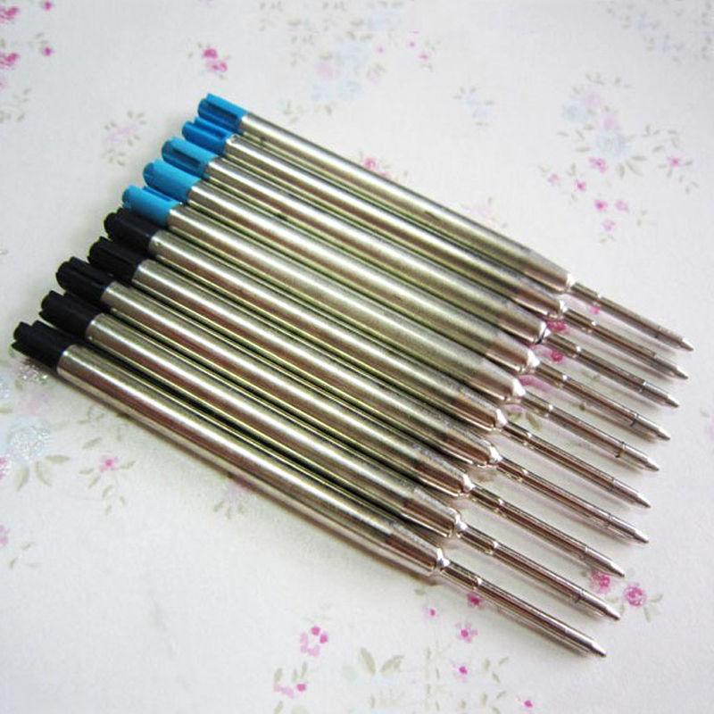 Hot Sale Ballpoint Pen Refills Metal Parker Refill Stationery for School Office