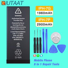 Giutaat Battery for Apple iphone 7 7G Mobile Phone Lithium Polymer Batteries iPhone Plus Free Tools Kit