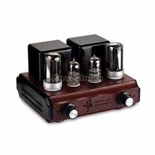 Douk Audio Mini Reine handgemachte 6C3 + 4P1S Holz Chassis Schlauch Integrierte Amp Stereo Klasse A Verstärker Schaltnetzteil