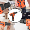 LOMVUM 12V Electric Drill Screwdriver Power dremel Tool Rechargeable Cordless drills Lithium-Ion Battery Screw Rotary Tool  5