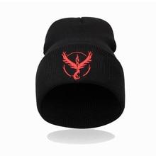 New hot Pokemon go knitted cap hip-hop wool cap fashion winter hat for men women's skullies beanie  8Z