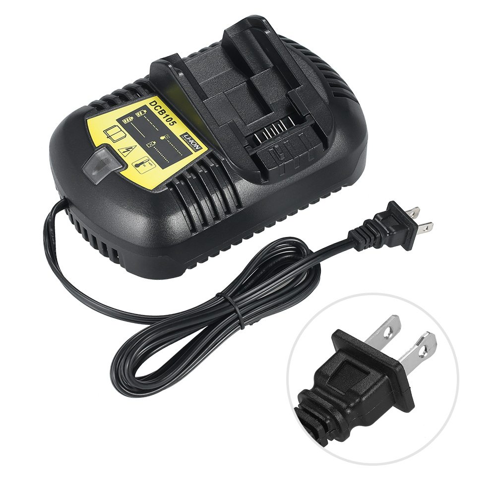 Battery Charger Replacement for DCB105 12V-20V Li-Ion Battery parafusadeira a bateria for Electric Screwdriver Power Tool bl1013 electric tool battery 10 8v max 12v 2000mah for makita bl1014 electric power tool battery li ion power tool battery