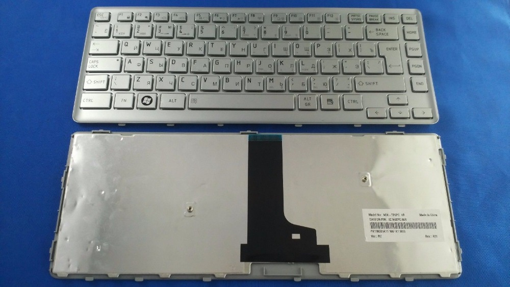 New Laptop keyboard for Toshiba Satellite Pro T230 T230D T235 RU  Russian layout new laptop keyboard for toshiba satellite pro a200 a210 l300 l300d l50 a l510 m300 qwertz hungarian layout