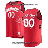 Custom Toronto Basketball Jersey Personalized Embroidered Any High School College Your Own Team Logo Name Number Men Women Kid