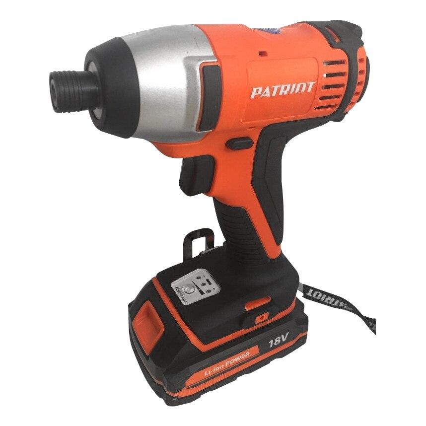 Drill-screwdriver rechargeable PATRIOT BR 180Li 1/4 torque 180Нм, 3000 beats per minute)