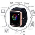GT08 Смарт-часы для смарт-часов  мужские и женские наручные часы на Android  умные электронные часы с камерой  sim-картой  tf-картой PK Y1 DZ09 Q8